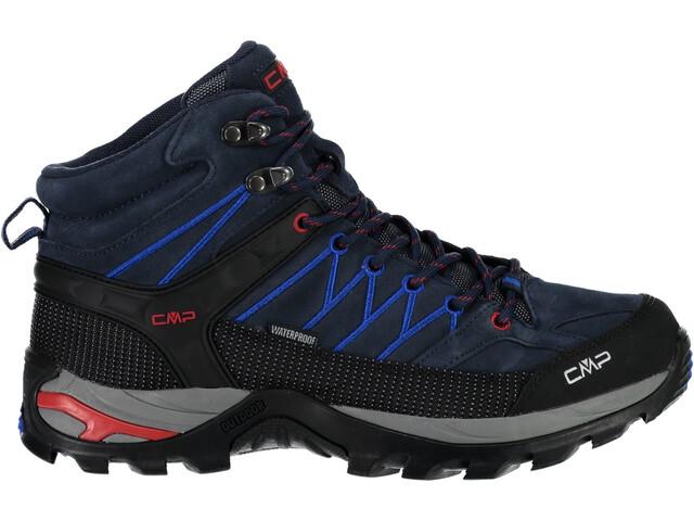 CMP Campagnolo Rigel Mid WP Chaussures de trekking Homme, black blue-royal